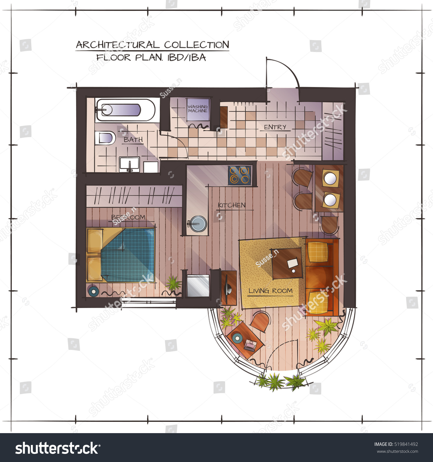 One Bedroom Floor Plans Home Design