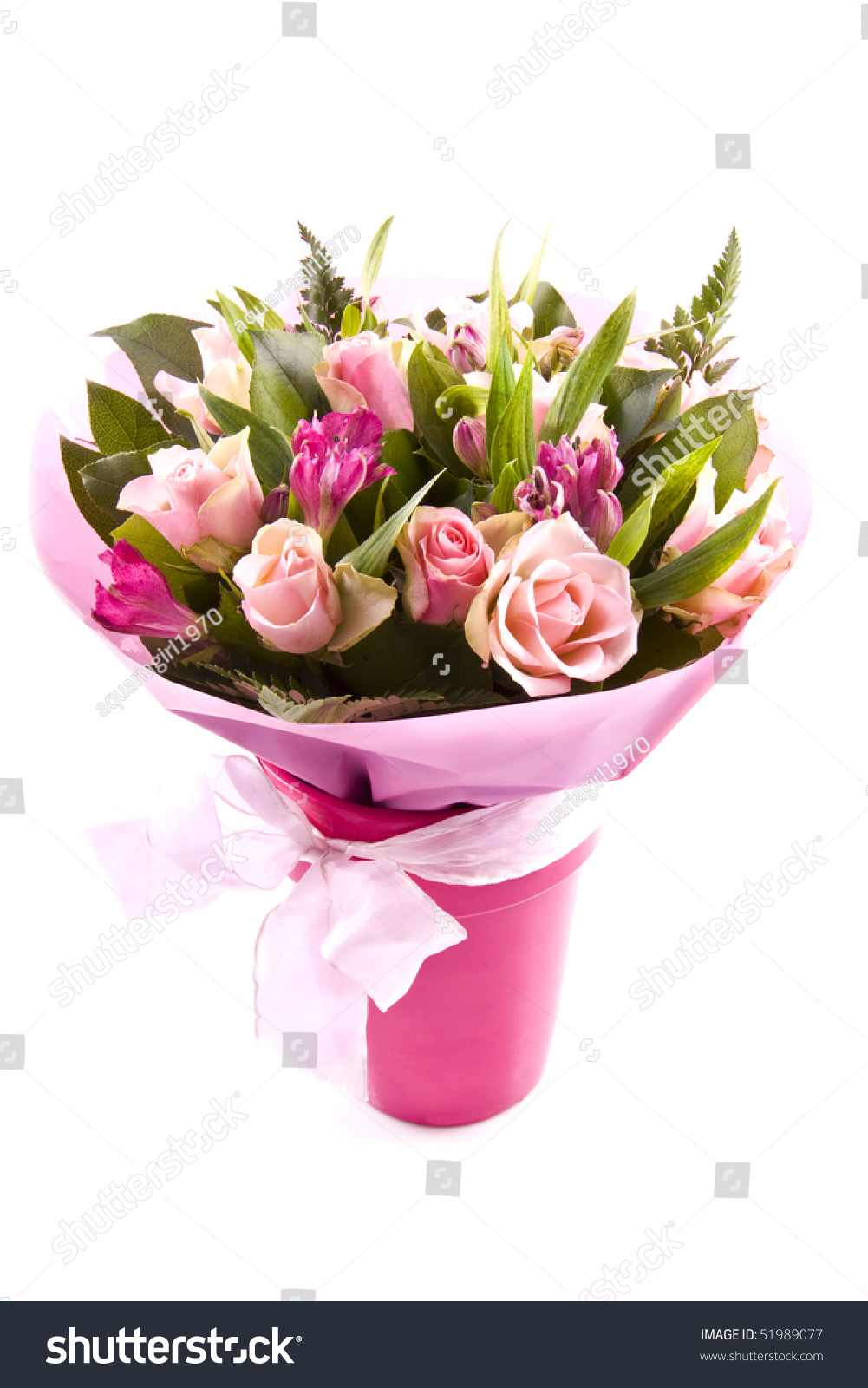 Bouquet different kind flowers isolated over stock illustration bouquet with different kind of flowers isolated over white izmirmasajfo