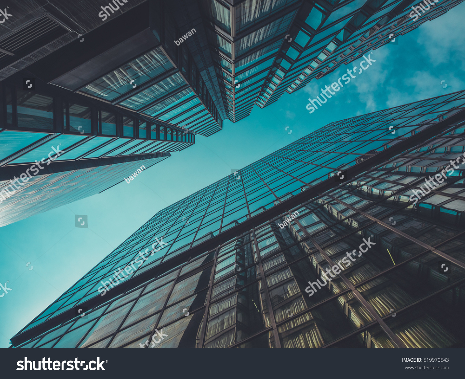 Skyscraper Buildings and Sky View #519970543