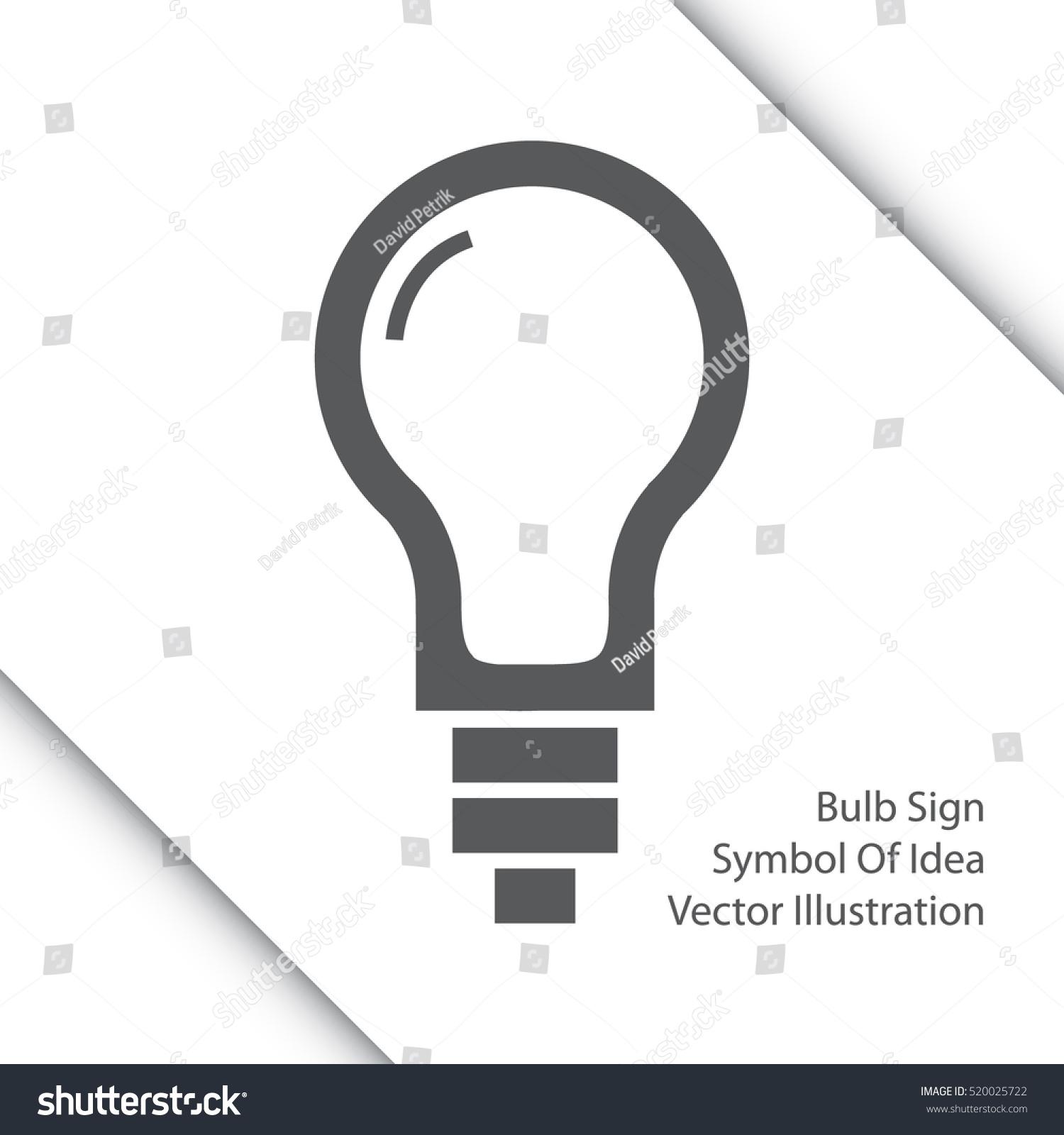 Light bulb line icon sign thinking stock vector 520025722 light bulb line icon sign thinking stock vector 520025722 shutterstock biocorpaavc