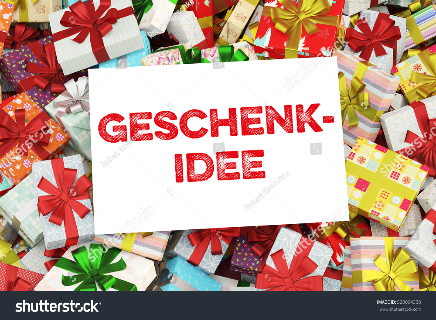 German Christmas Gifts.Royalty Free Stock Illustration Of Background Christmas