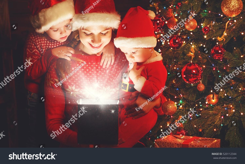 christmas eve stock image
