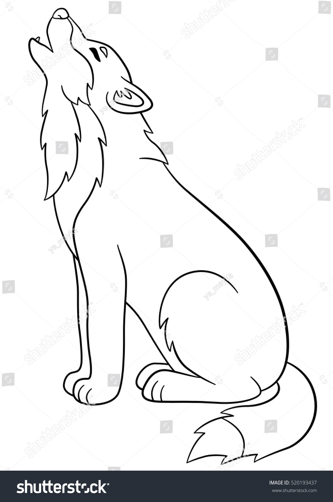 Wolf cub coloring sheet Coloring pages mickey and friends coloring ... | 1600x1061