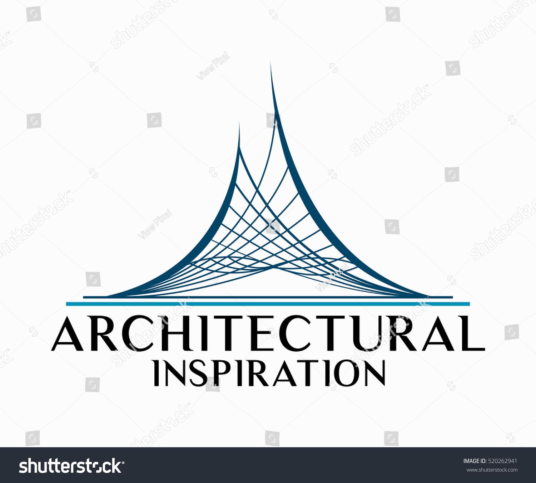 Eal estate building construction architecture logo stock for Architecture logo