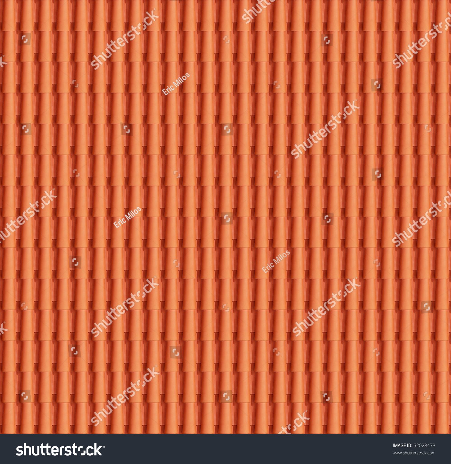 Close up detail of perfect roof tiles texture stock photo Perfect tiles