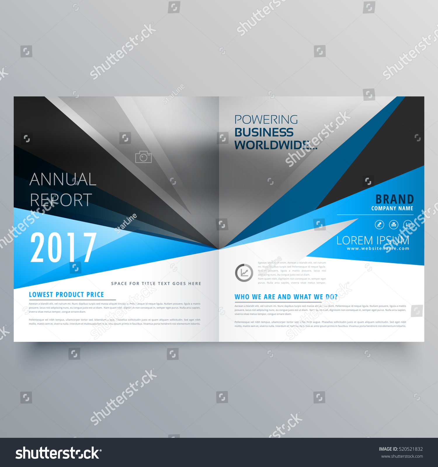 booklet magazine cover page creative template design 520521832 booklet magazine cover page creative template design