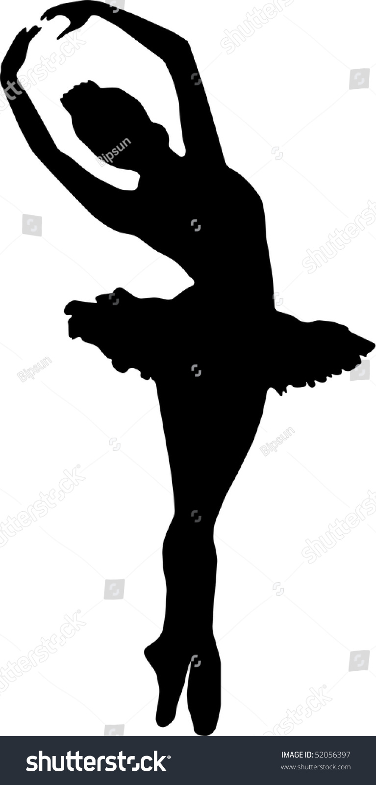 dancing girl silhouette - photo #31