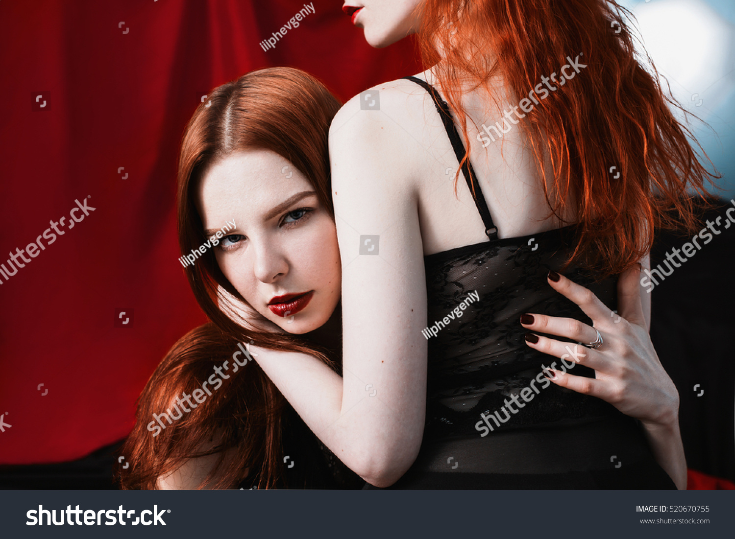 image Hot redhead smoking and anal fucked