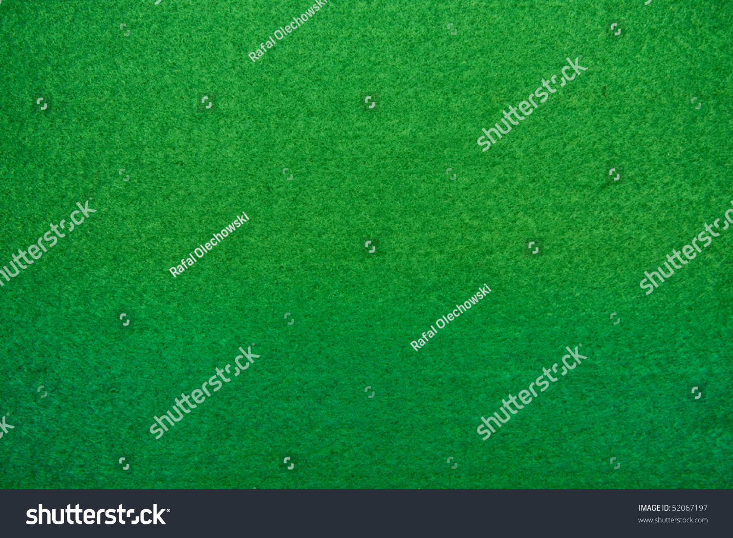 Poker Table Background - Close up of green poker table felt background