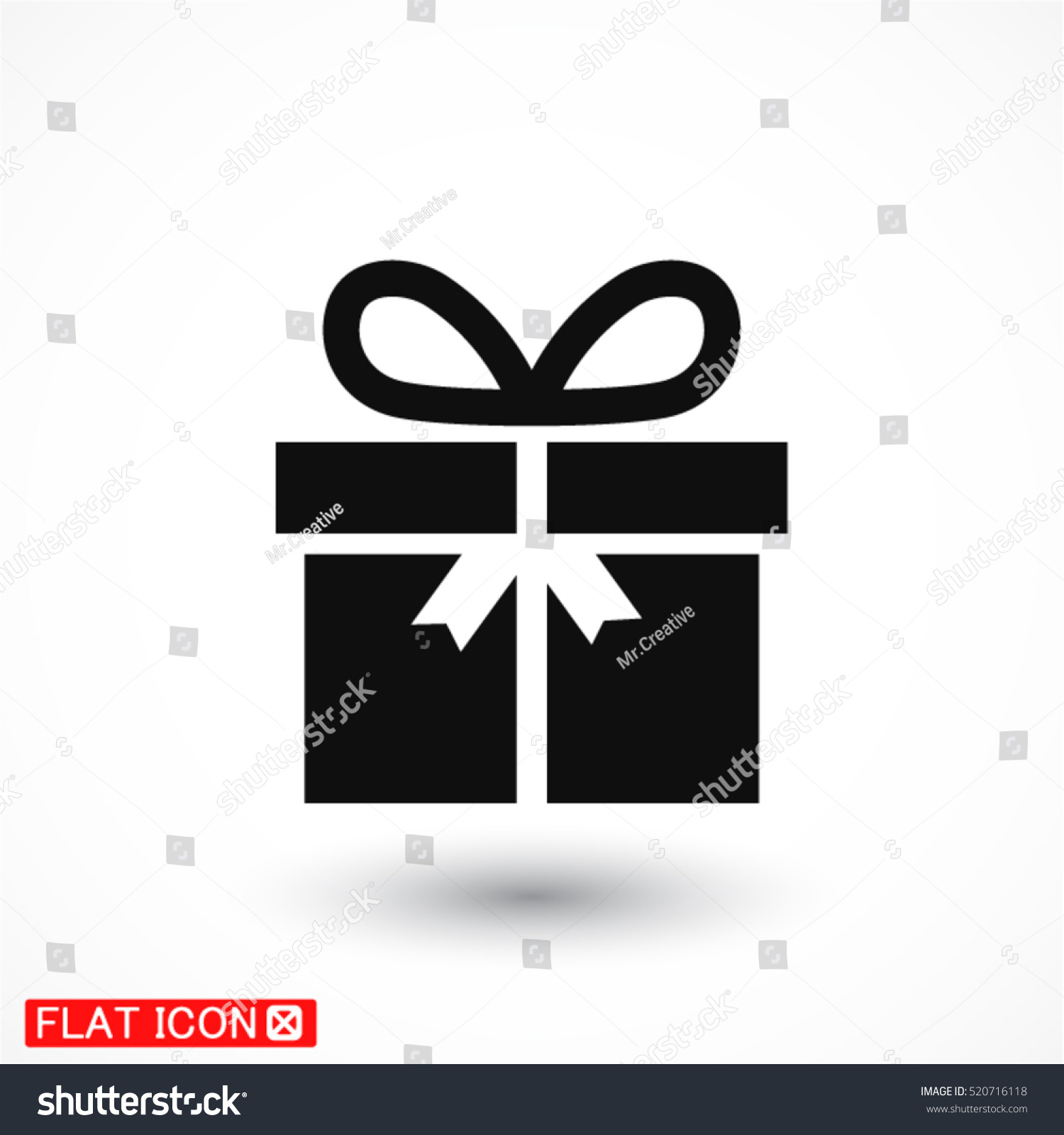 gift line vector icon