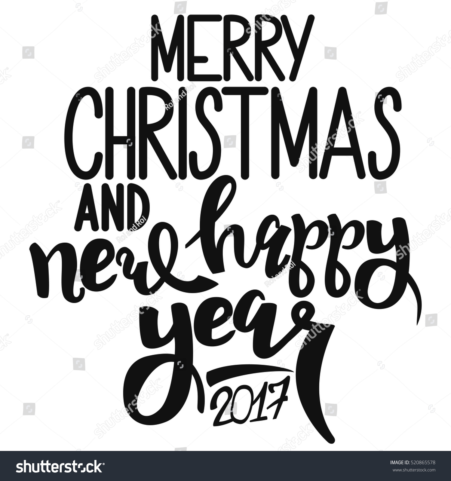 black text merry christmas happy new stock vector royalty free 520865578 https www shutterstock com image vector black text merry christmas happy new 520865578