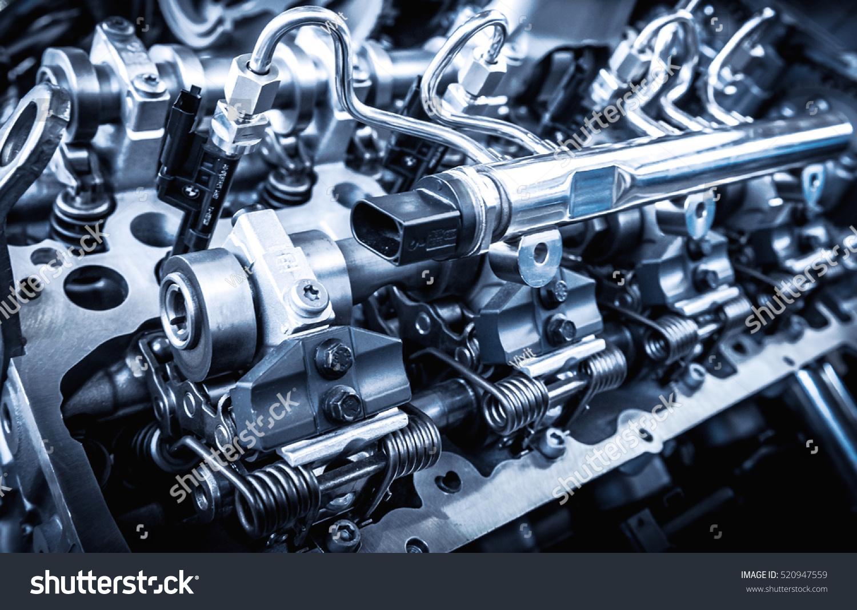 powerful engine car internal design engine stock photo  shutterstock
