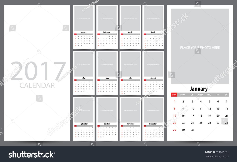 Calendar Planner Vector : Calendar planner design vector illustration stock