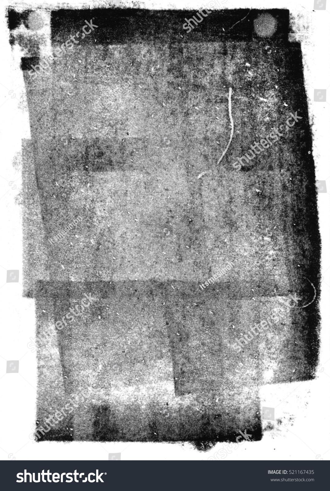 Black Letterpress Ink Texture Stock Photo 521167435 ...