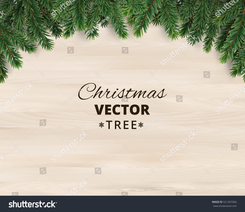 Branche D Arbre Sapin De Noel image vectorielle de stock de branches d'arbre de noël sur