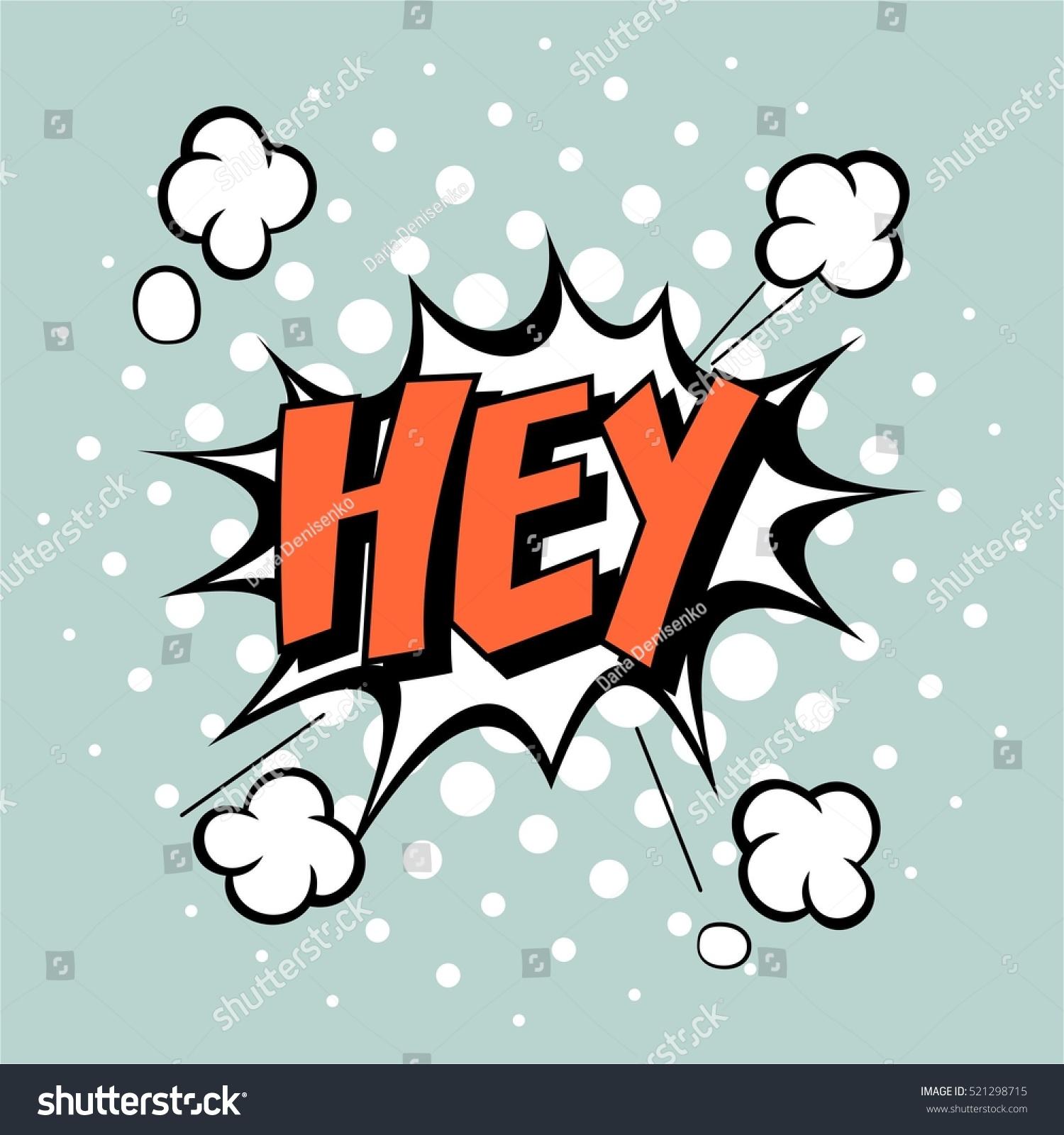 pop art comic bubbles design vector stock vector 521298715 shutterstock. Black Bedroom Furniture Sets. Home Design Ideas