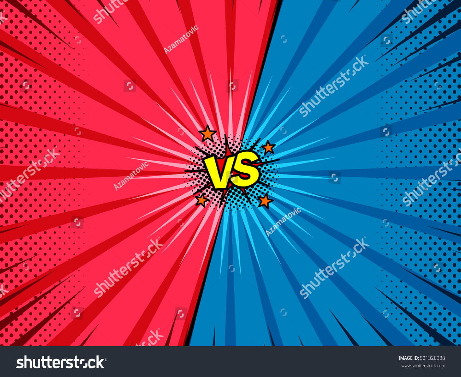 comic book versus template background classic stock vector 521328388 shutterstock. Black Bedroom Furniture Sets. Home Design Ideas