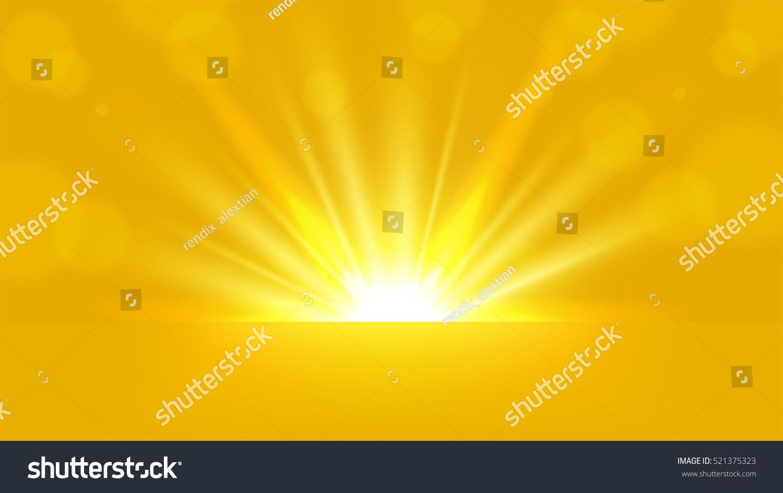 yellow rays vector - photo #28
