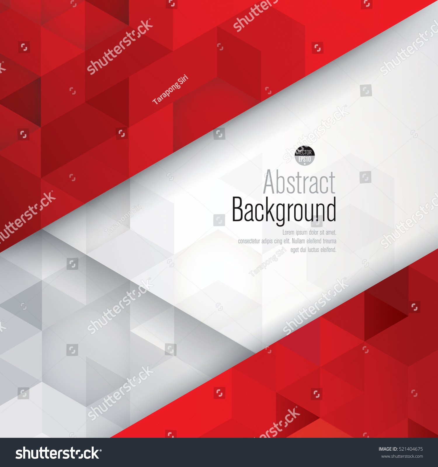 Red Book Cover Design : Red white background vector can be stock