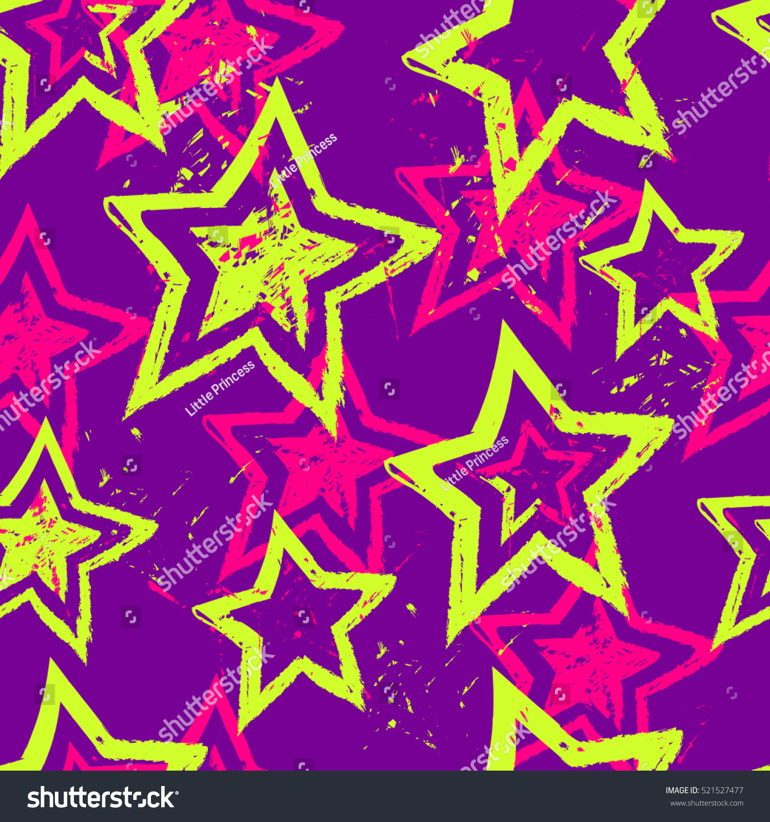 Abstract Seamless Pattern For Girls Children Fashion Clothes Sky Wallpaper Funny Creative