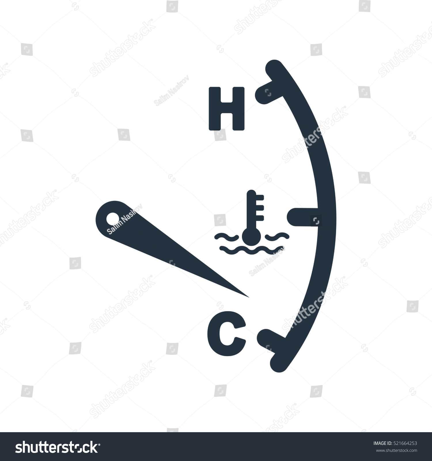 Motor temperature gauge isolated icon on stock vector 521664253 motor temperature gauge isolated icon on white background auto service repair car detail biocorpaavc Image collections