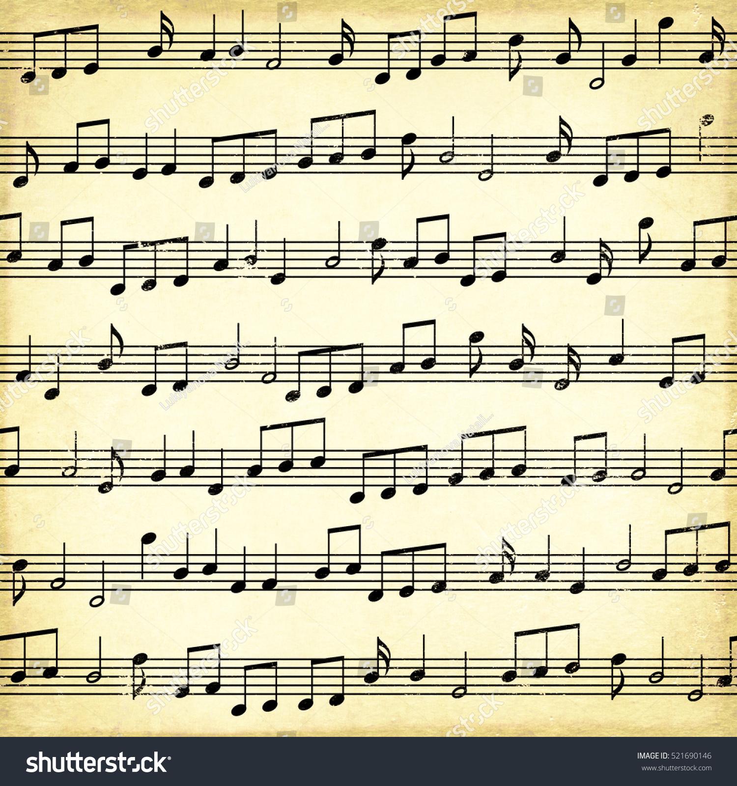 Isolated Symbols Music Notation Ez Canvas