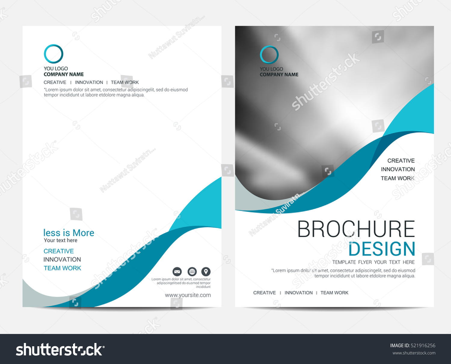 Brochure layout template cover design background imagem for Background for brochure design