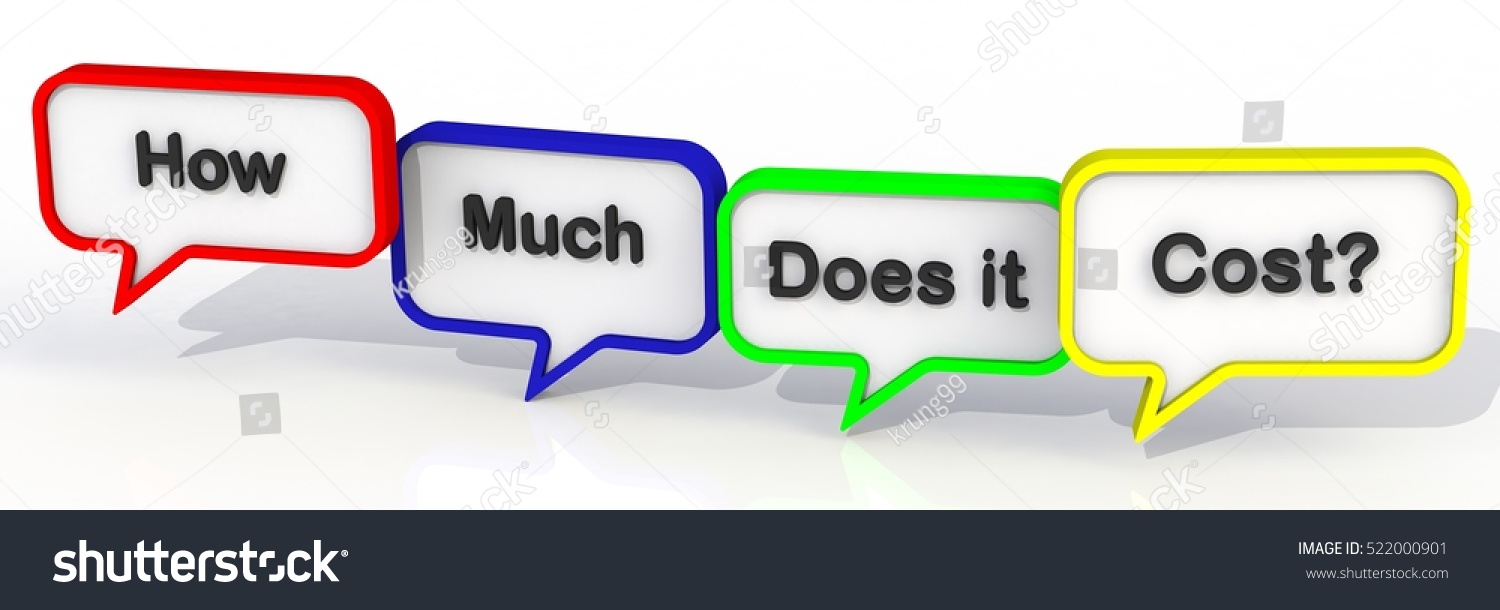 how much does cost message onのイラスト素材 522000901 shutterstock