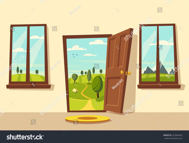 room doors vector art - photo #24