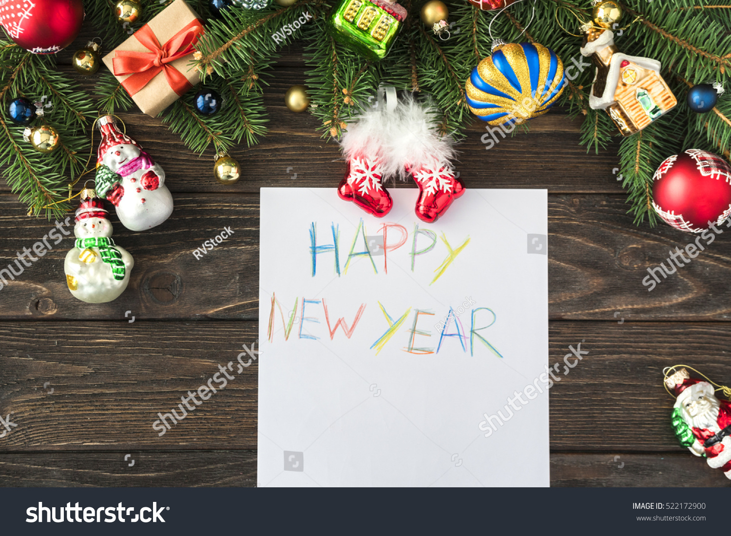 colorful new year decoration - photo #27