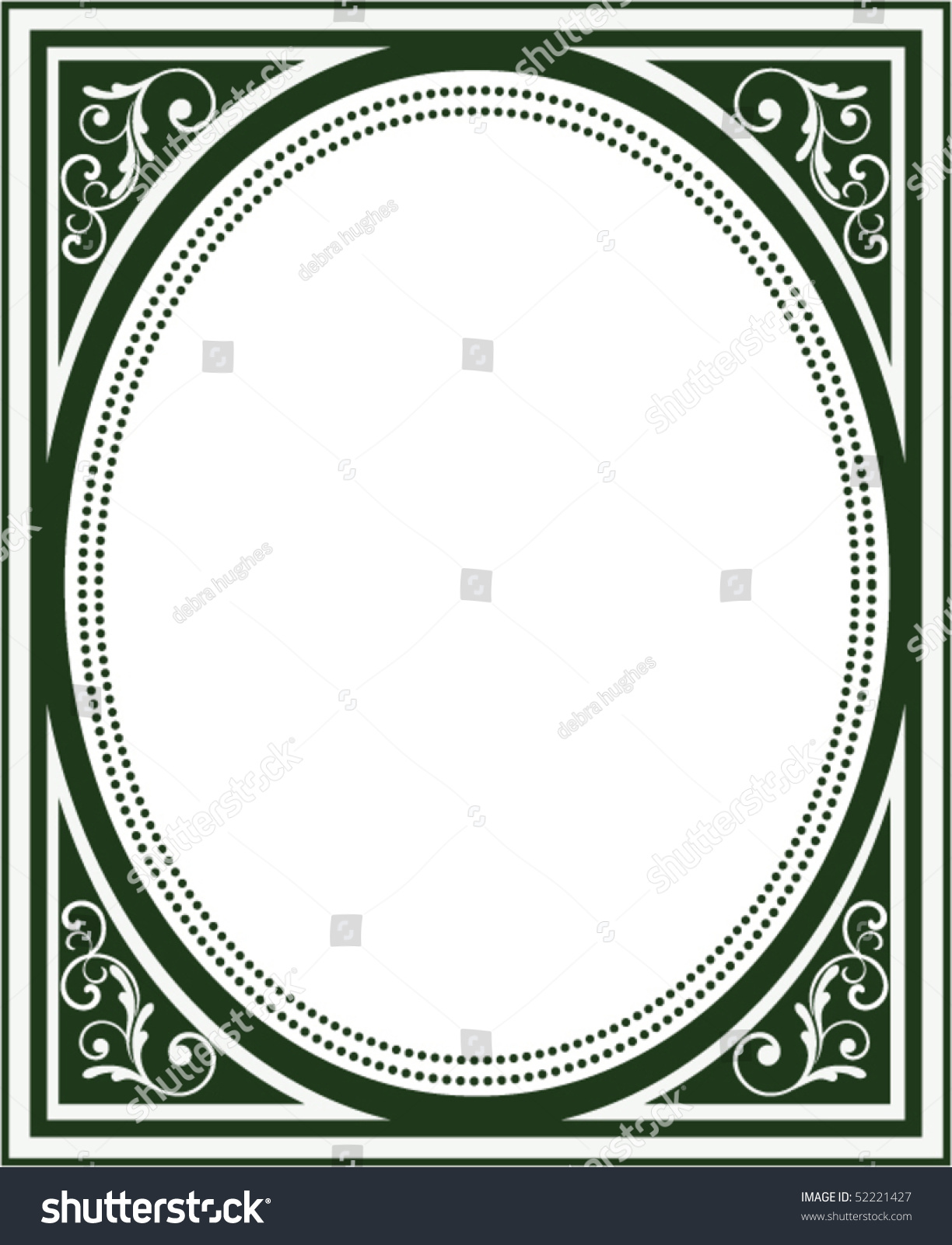 Old Book Cover Vector : Old book cover frame stock vector shutterstock