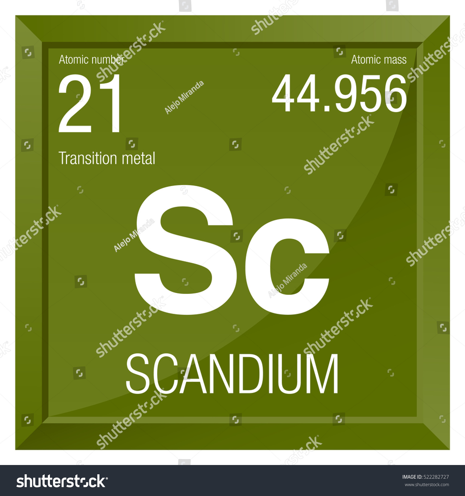 Scandium symbol element number 21 periodic stock vector 522282727 scandium symbol element number 21 of the periodic table of the elements chemistry gamestrikefo Images