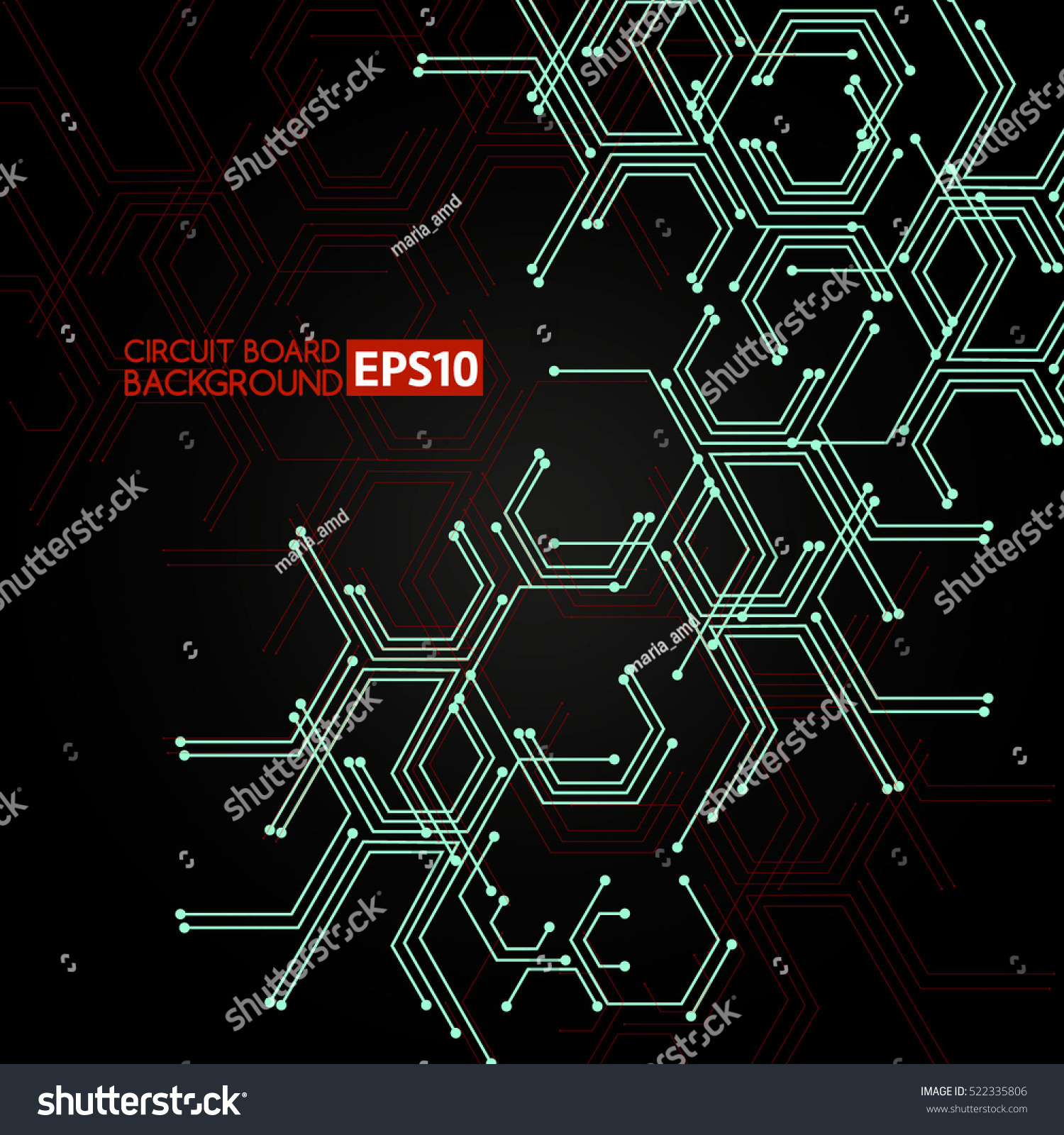 Circuit Board Vector Backgrounds Background Stock Image 45284500 Photo 27