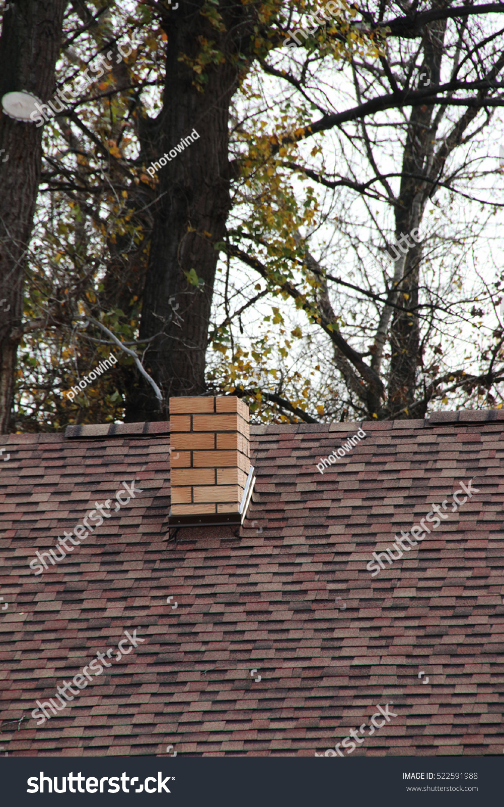 Modern cottage roof covered with roofing flexible for Modern roof shingles