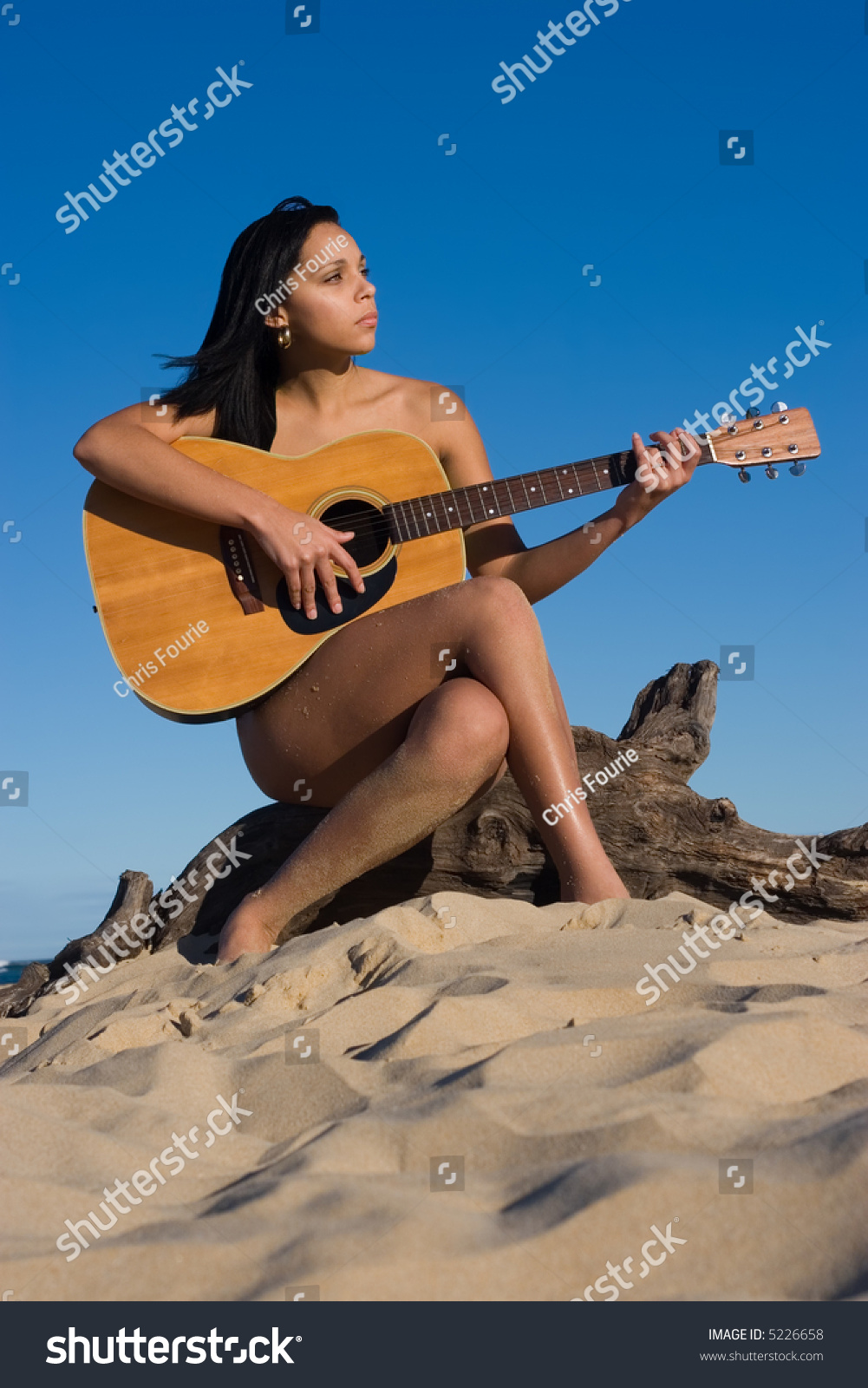 Apologise, that Hot completely naked girls playing the guitar