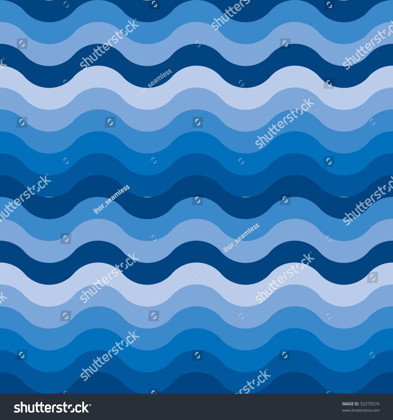 Seamless Ocean Sea Water Background Stock Vector Royalty