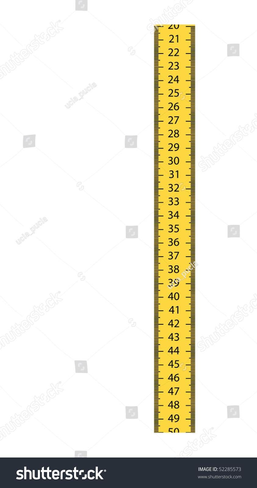 worksheet Centimeter vector centimeter stock 52285573 shutterstock centimeter