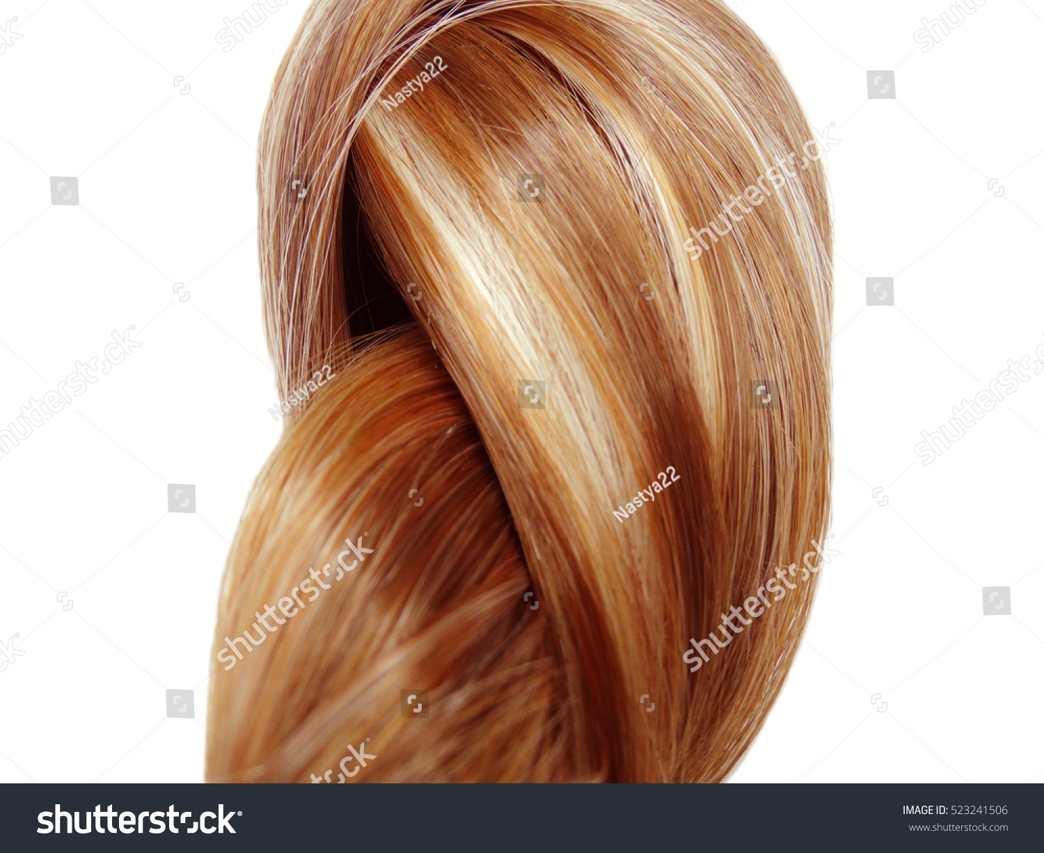 Highlight Hair Texture Abstract Fashion Background Stock Photo Safe