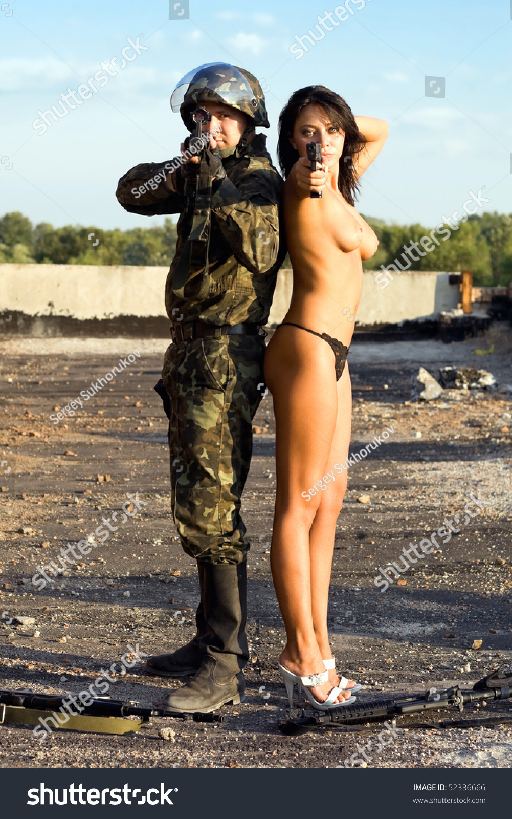 Nude Women Soldiers 37