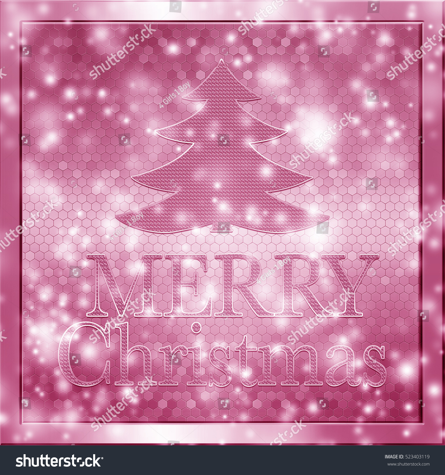 stock photo abstract pink and white wallpaper background texture with word merry christmas 523403119