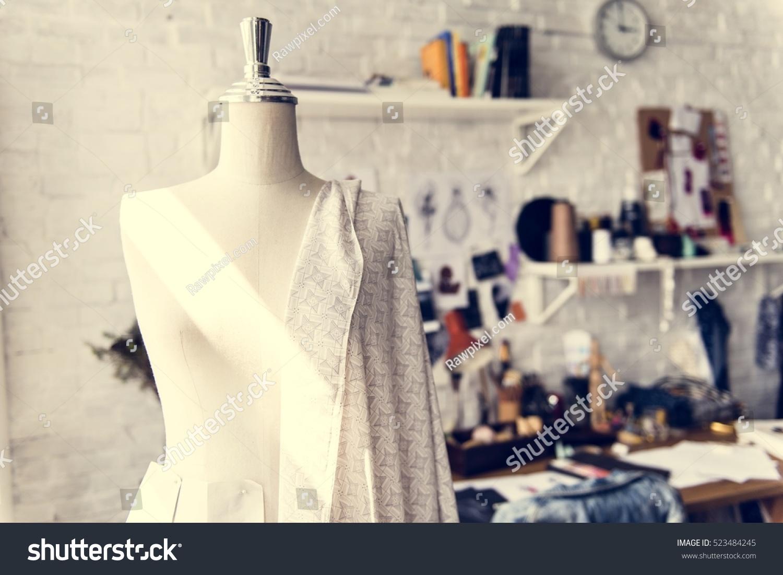 Fashion Design Mannequin Measurement Stock Photo 523484245