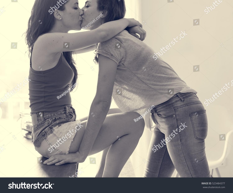 Lesbien verleiding