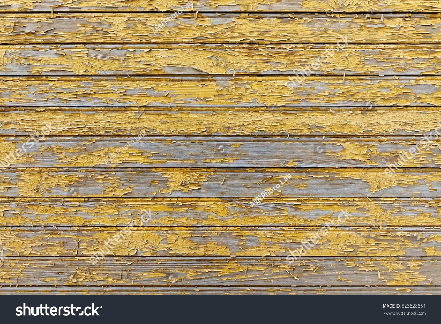 Red Barn Wooden Wall Planking Horizontal Stock Photo