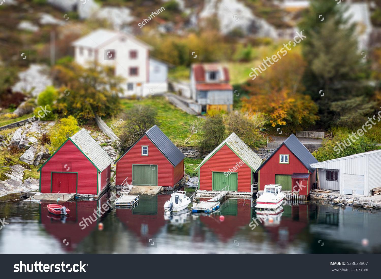 Scandinavian village miniature panorama town small stock photo 523633807 shutterstock - The tiny house village a miniature settlement ...