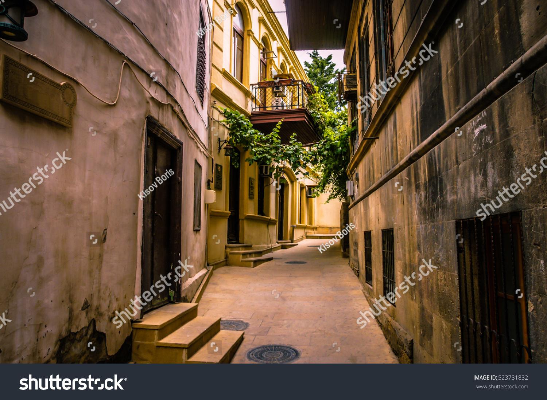 stock photo walking on empty in old town of jerusalem jerusalem old city old city buildings old city street 523731832 - asdasd