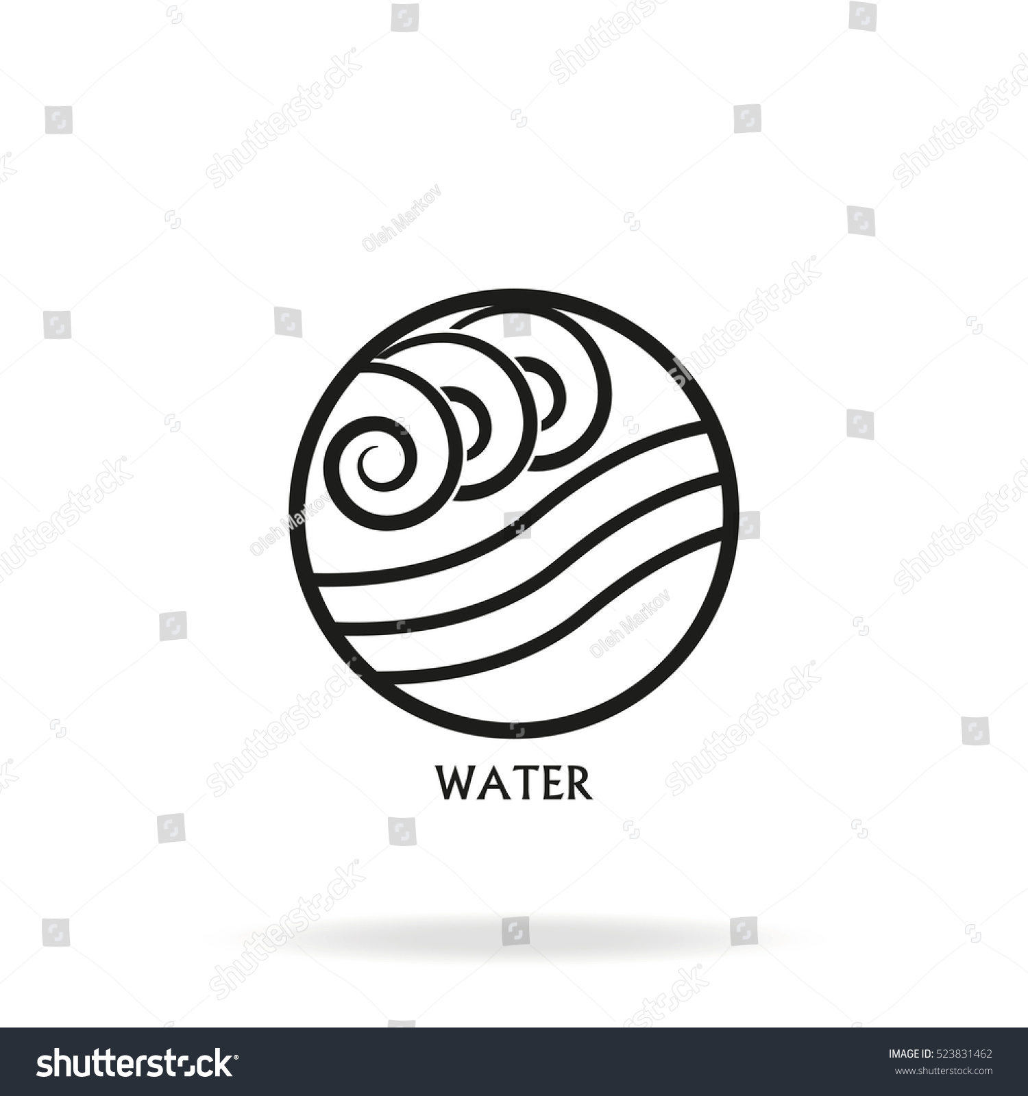 Ancient symbol water element subscribe stock vector 523831462 ancient symbol of water element with subscribe biocorpaavc Choice Image