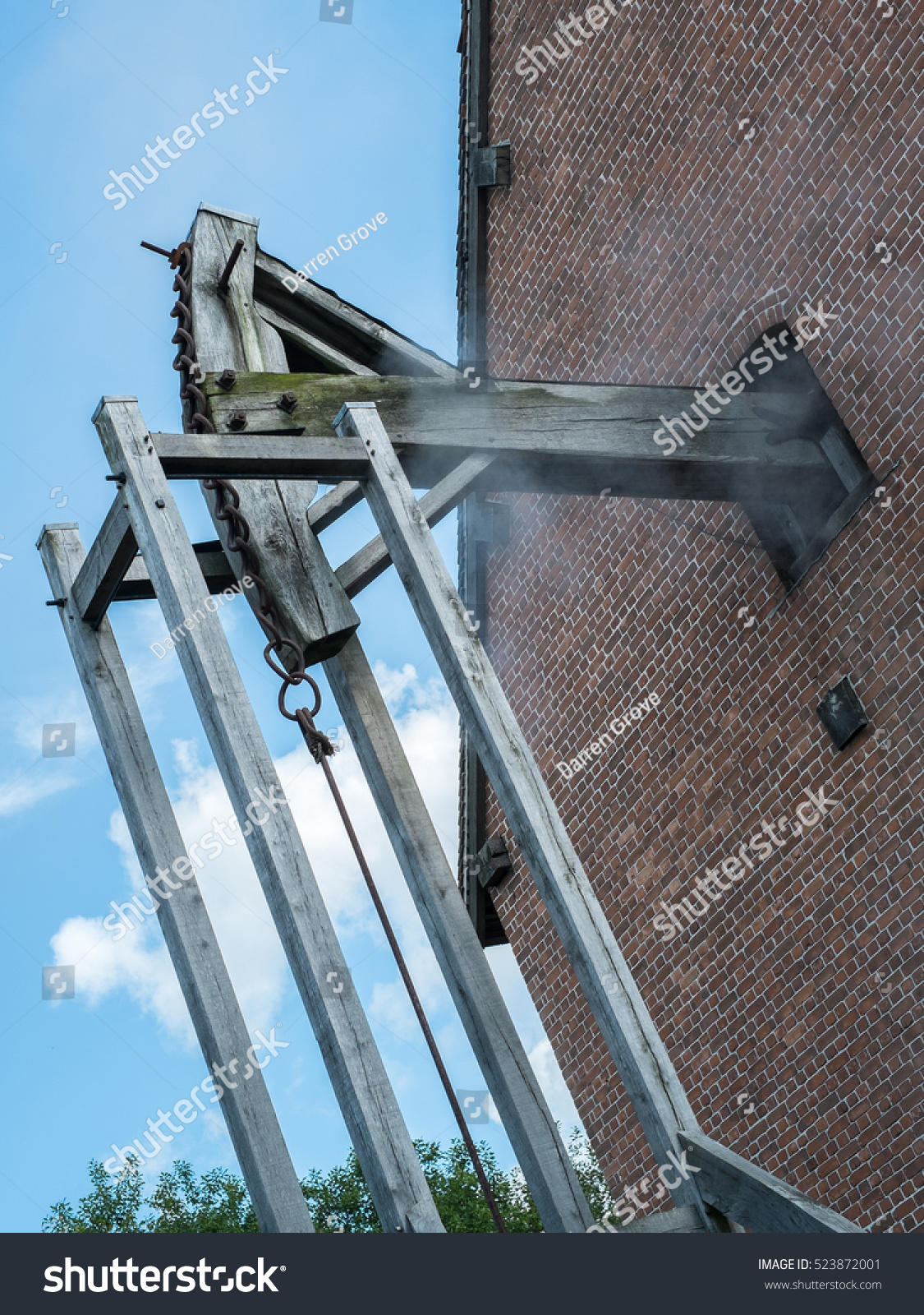 Working Newcomen Steam Engine Used Pump Stock Photo (Edit Now ...