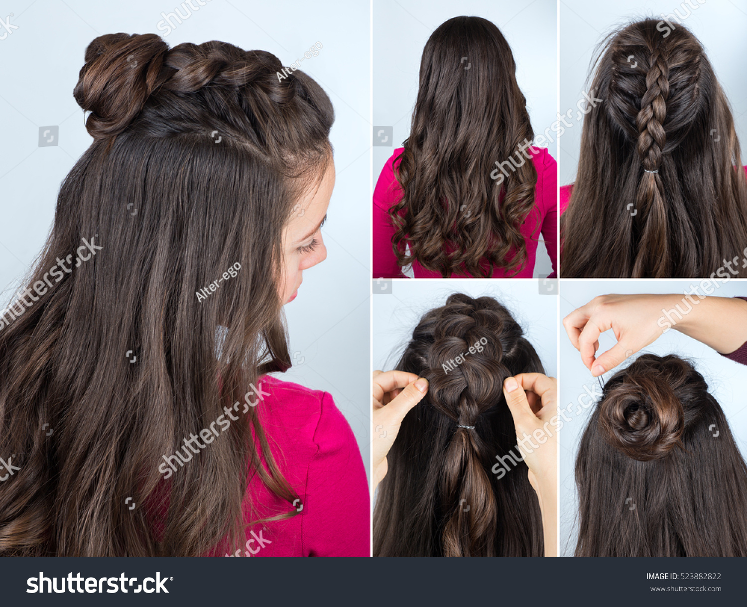 Tutorial Photo Step By Step Modern Stock Photo Edit Now 523882822