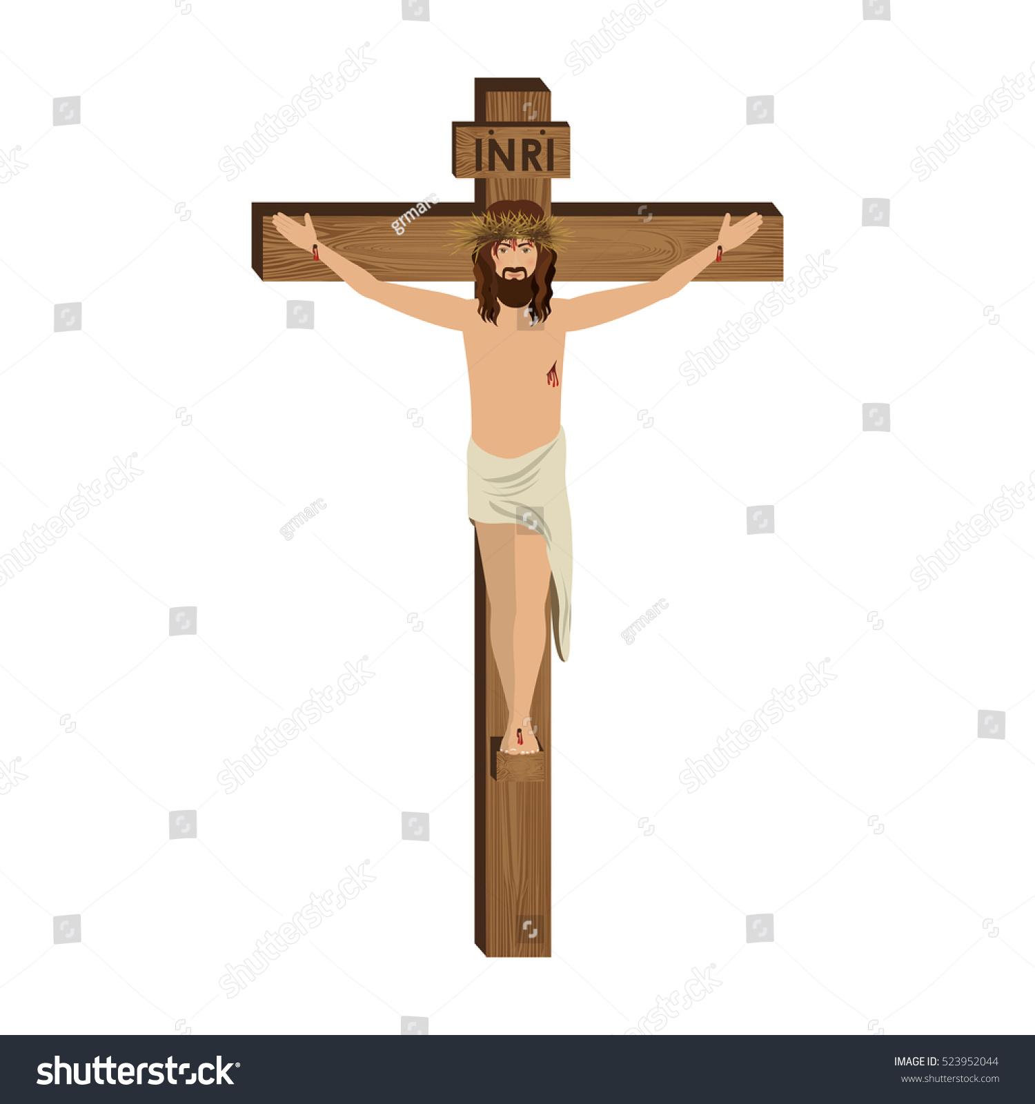 crucifixion jesus christ stock vector 523952044 shutterstock
