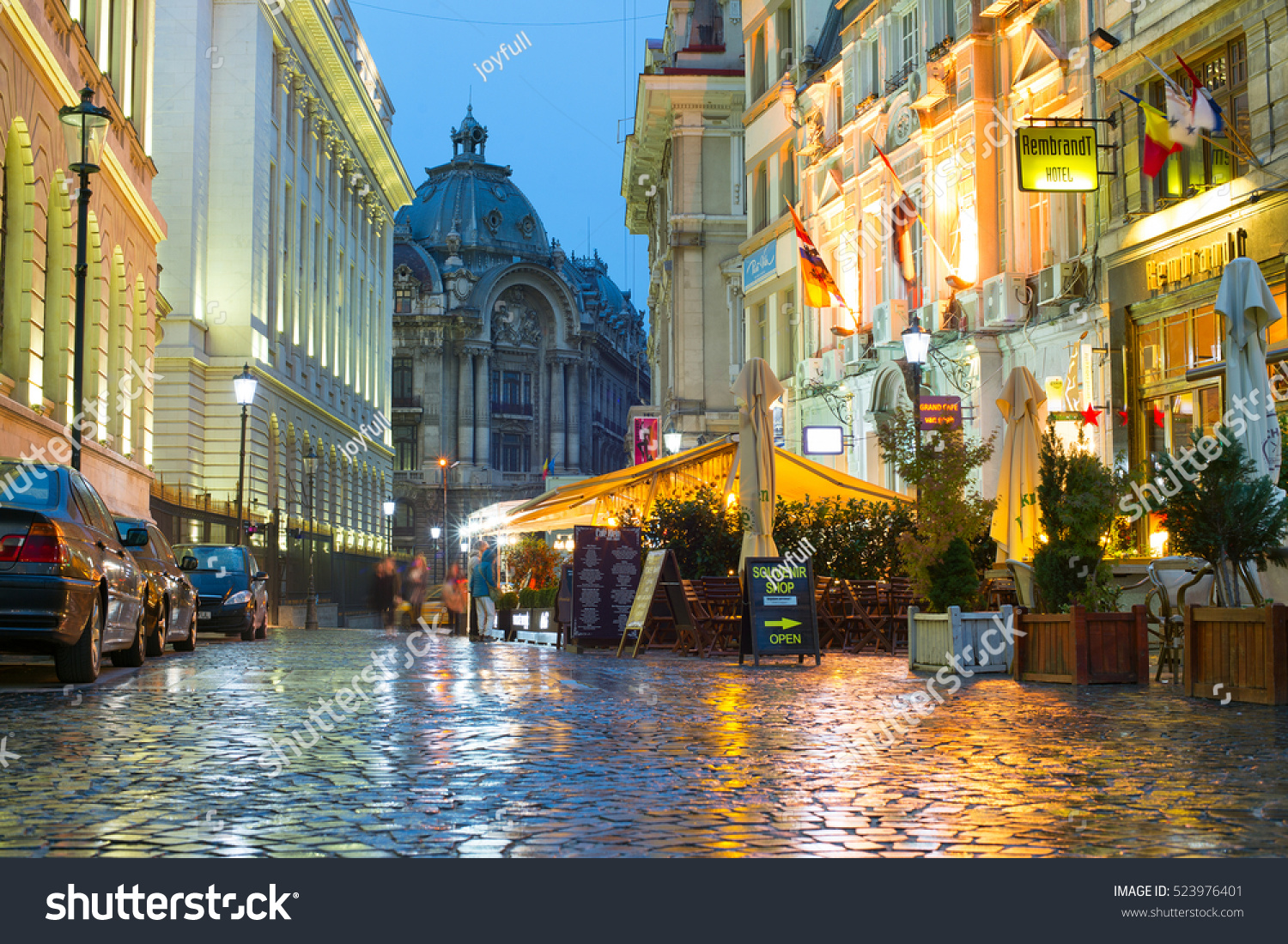 Bucharest Town Editorial Image Image Of Bucharest: Bucharest Romania Oct 10 2016 Old Stock Photo 523976401
